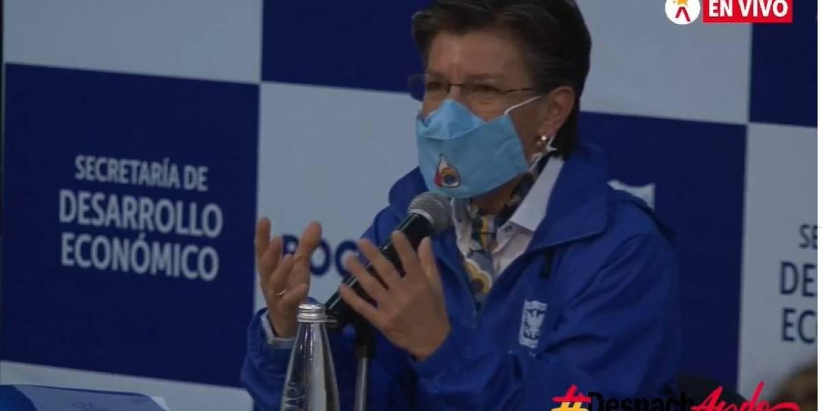 """Alcaldesa de Bogotá dio la fecha en que """"sí o sí"""" vuelven las clases presenciales"""