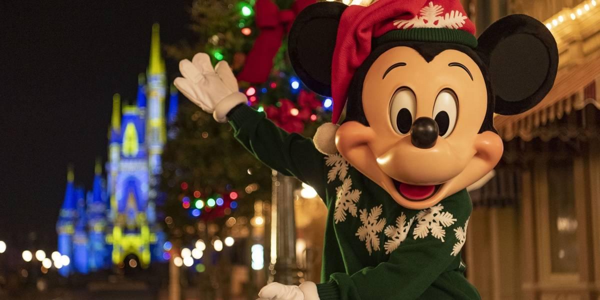 La Navidad llegó a los parques de Walt Disney World en Florida
