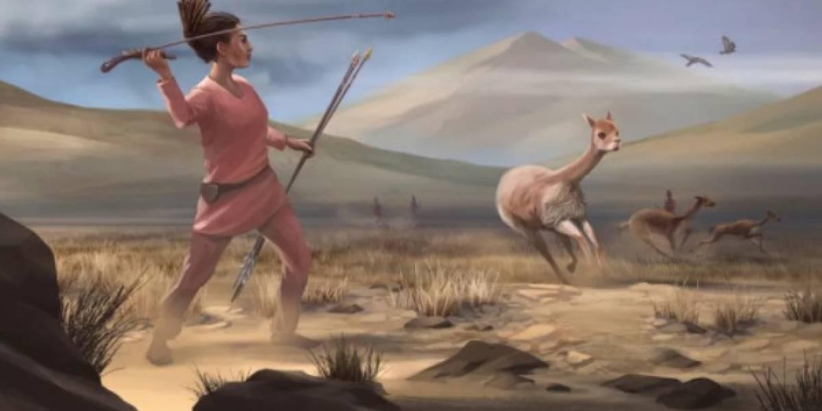 Encuentran restos de una mujer cazadora y sus armas: tienen 9 mil años