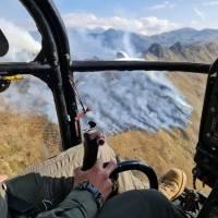 Controlan incendio del Parque Nacional Cayambe, 2000 hectáreas fueron afectadas