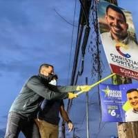 Nuevo alcalde de Aguada retira propaganda política