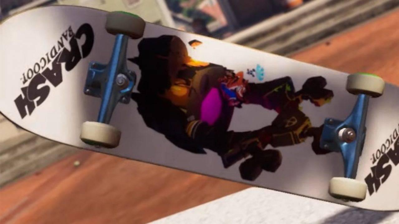 Crash Bandicoot Tony Hawk