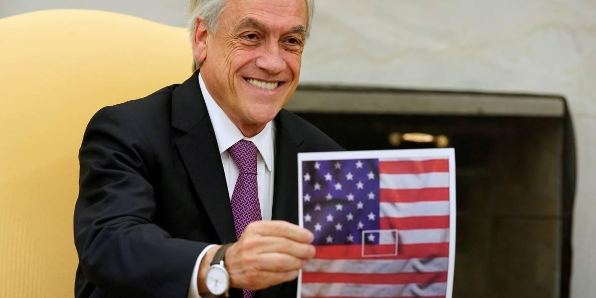 """""""Compartimos valores como la libertad"""": Presidente Piñera felicita a Biden y Harris por triunfo en EEUU"""