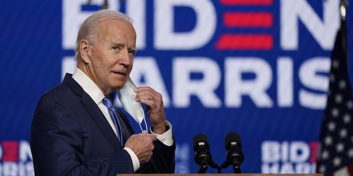 """Joe Biden: """"Me siento honrado"""" por victoria electoral, llama a la unidad de la nación"""