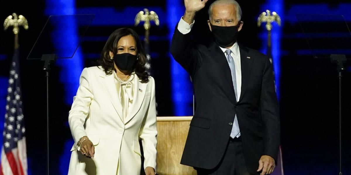 """EE.UU escogió """"la verdad"""": Joe Biden y Kamala Harris celebran triunfo y prometen """"sanar el alma de la nación"""""""