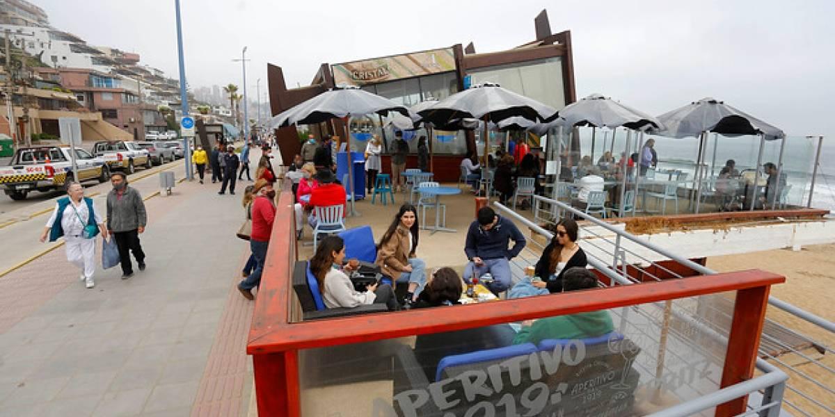 Viña del Mar volvió a la vida en su primer fin de semana sin cuarentena: con restaurantes abiertos y aumento de turistas tras el confinamiento