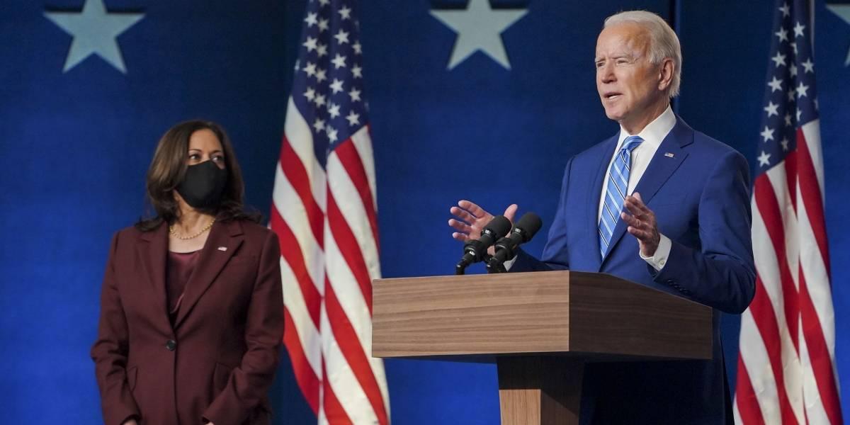 El primer trino de Joe Biden como presidente de Estados Unidos