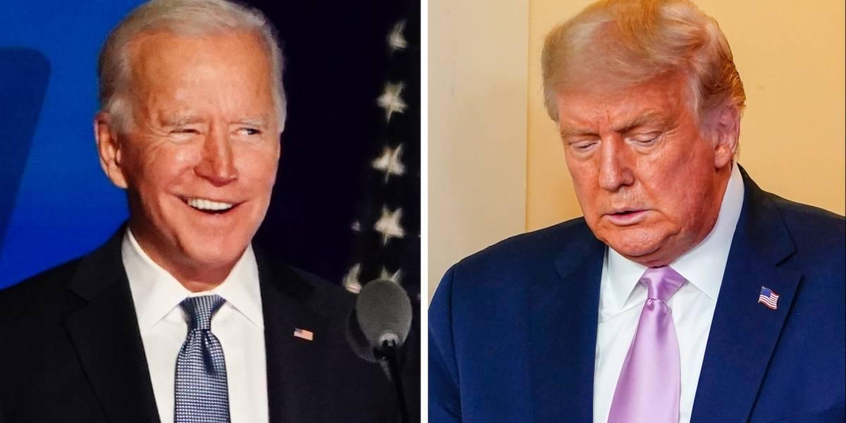 ¡No lo quiere aceptar! Fuerte pronunciamiento de Trump tras anuncio de Biden como nuevo presidente