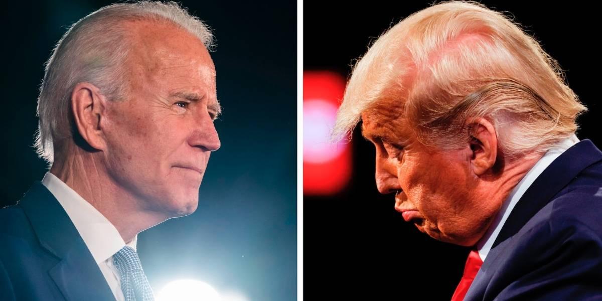 """Trump no reconoce victoria de Biden: lo llama """"fraude"""" de """"noticias falsas"""""""