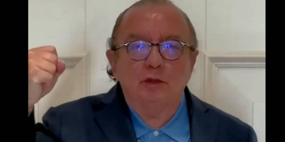 """Álvaro Noboa anuncia su intención de ser candidato para la Presidencia: """"Yo seré vuestro Presidente"""""""