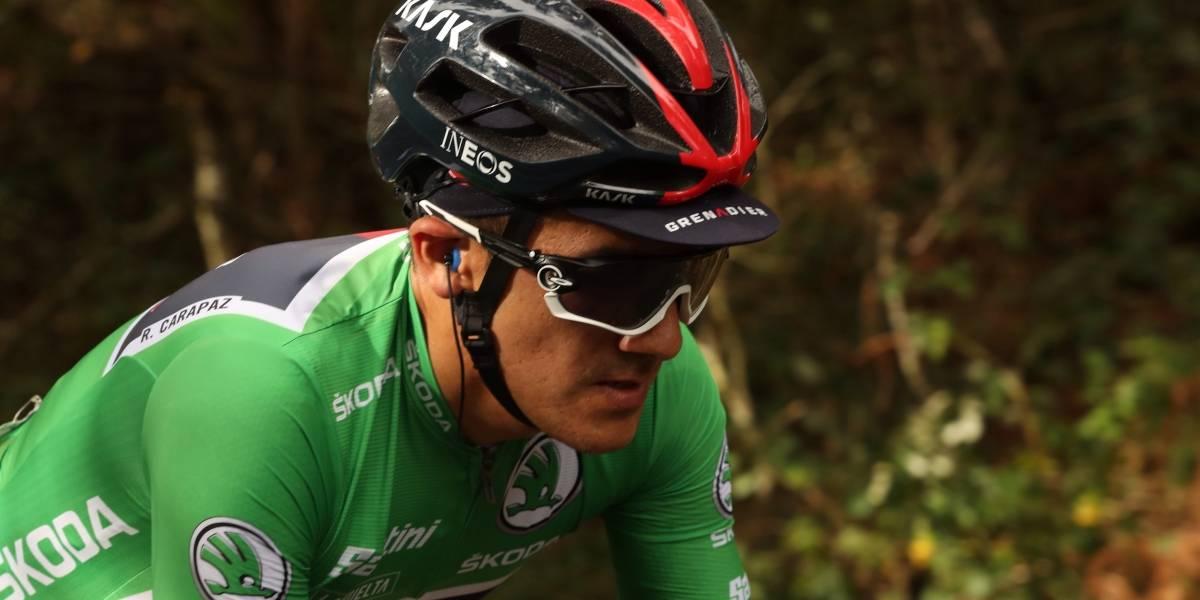 Ecuador se rinde ante Richard Carapaz, segundo en La Vuelta a España
