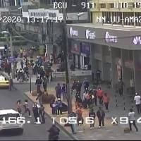 Quito: Cámaras de videovigilancia captan incumplimiento ciudadano al distanciamiento