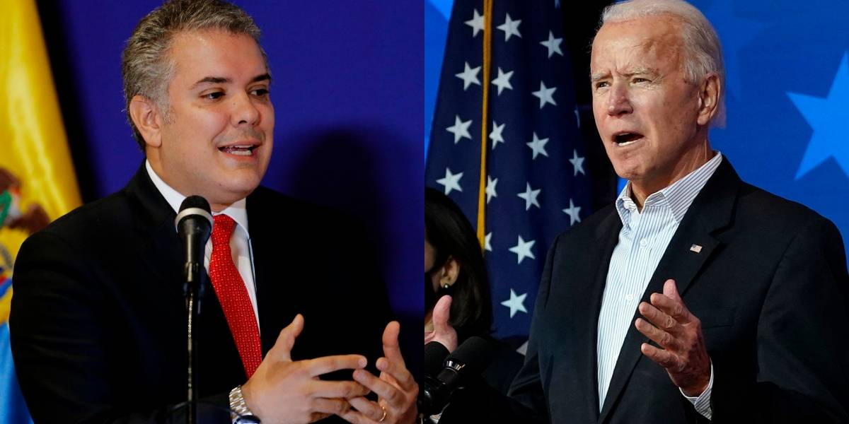 Periodista de Univisión le manda dura pulla a Iván Duque tras victoria de Biden