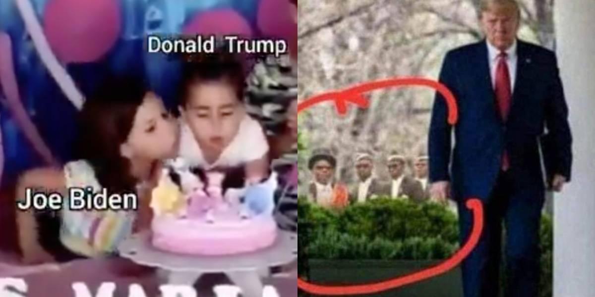 ¡Las redes nunca perdonan! Reviva los mejores memes que dejó la victoria de Biden sobre Trump