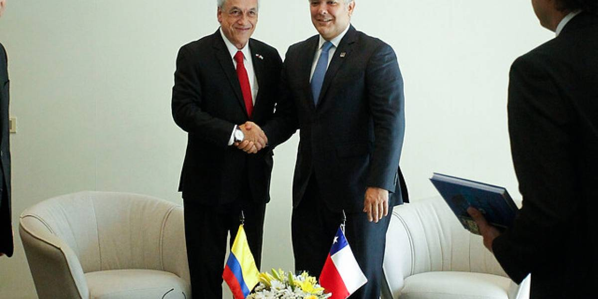 Protección social, estrategia sanitaria y reactivación del empleo figuran en la agenda de los presidentes Piñera y Duque en Viña del Mar