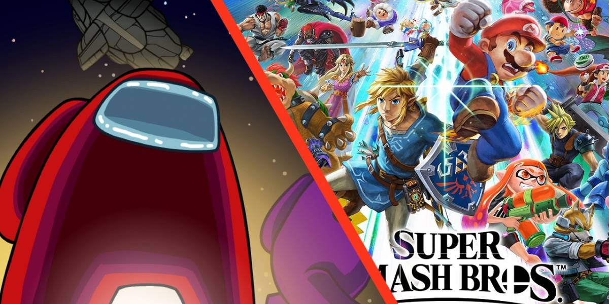 Among Us llega a Super Smash Bros Ultimate gracias a un increíble mod