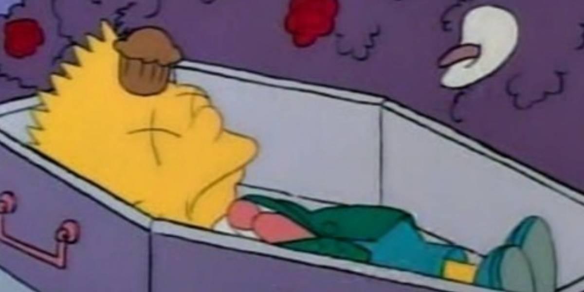 Los Simpson: Bart murió de manera oficial y no solo en un creepypasta