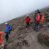 23 excursionistas fueron rescatados del volcán Tungurahua