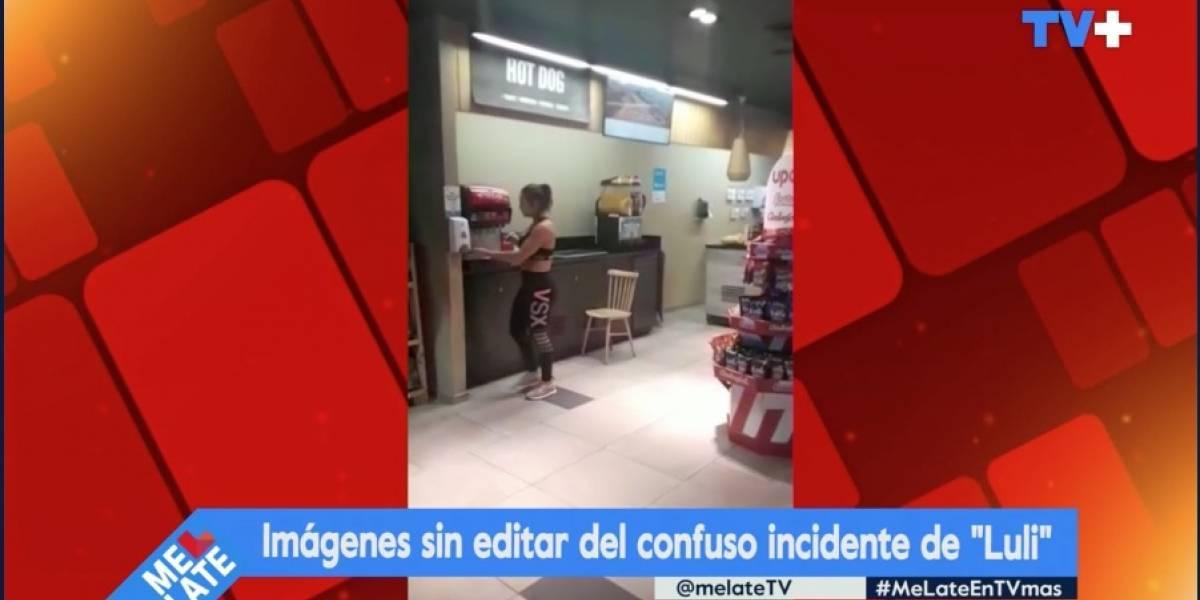 Luli sufre colapso en estación de servicio por no usar mascarilla