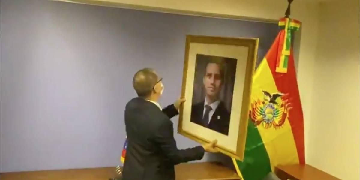 Gobierno de Maduro recuperó embajada en Bolivia