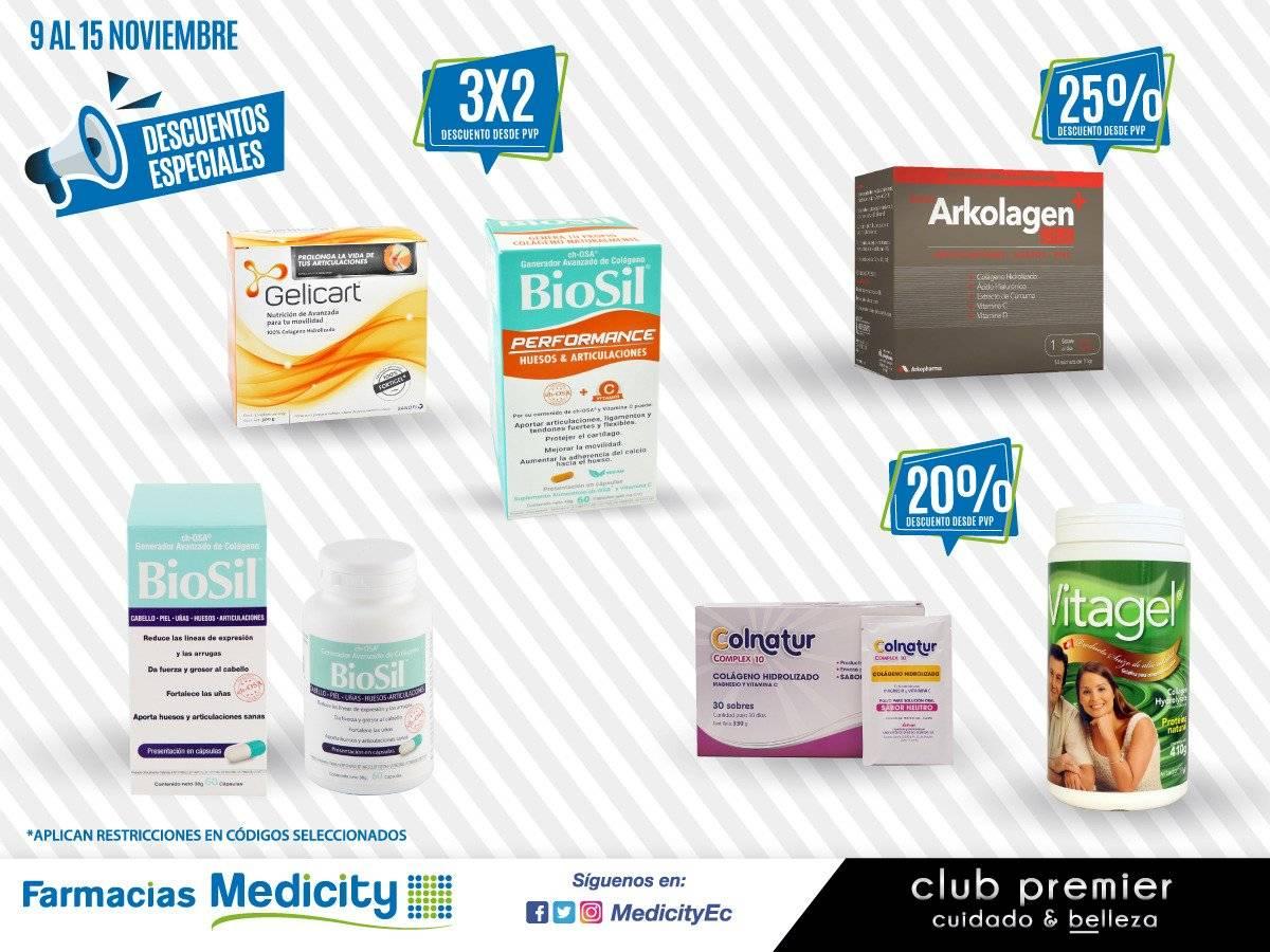 Farmacias Medicity, del 9 al 15 de noviembre