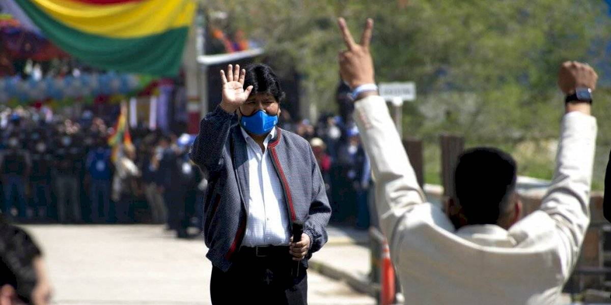 Evo Morales regresa a Bolivia tras un año en el exilio