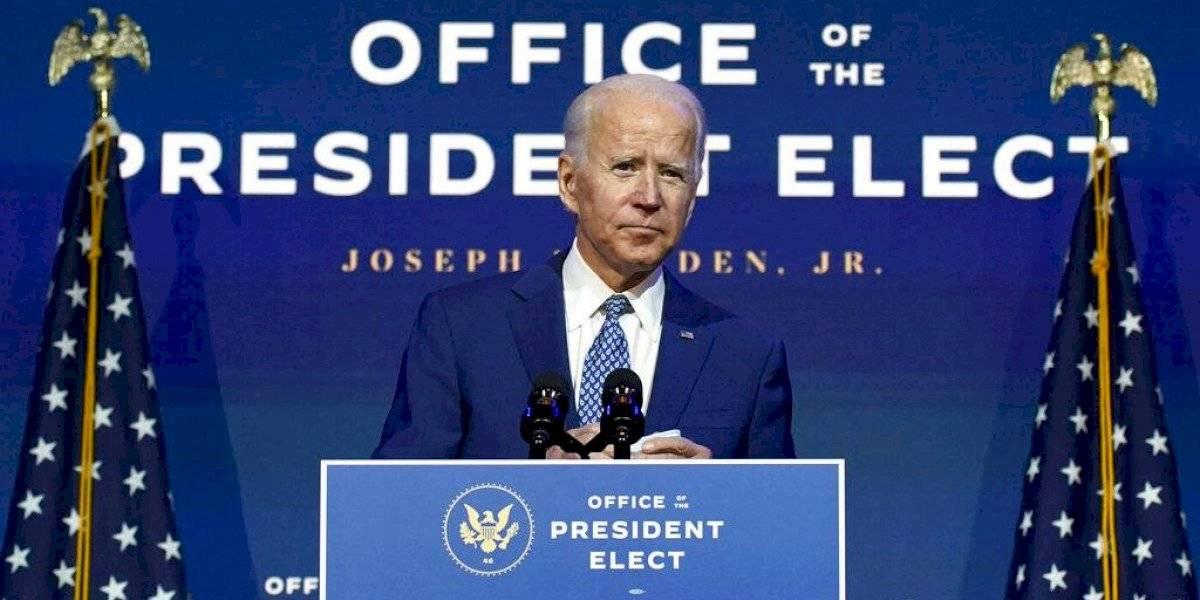 Biden pide cautela ante avance de vacuna y anuncia integrantes de task force sobre COVID-19