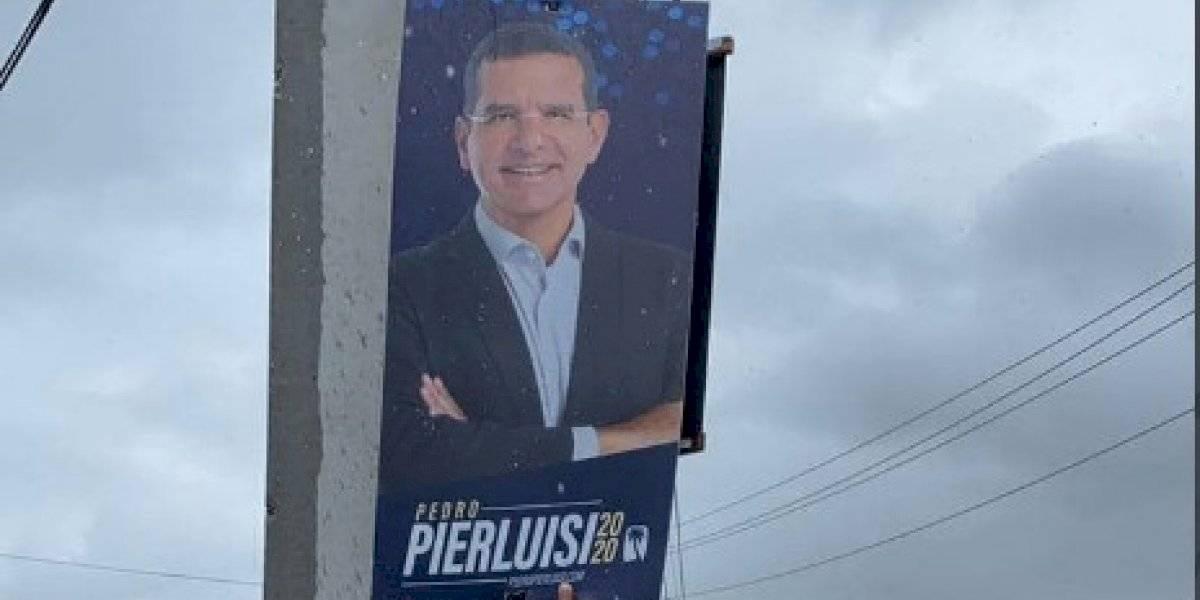 Equipo de Pierluisi inicia remoción de campaña política