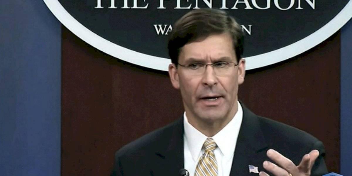 Trump despide al secretario de Defensa Mark Esper