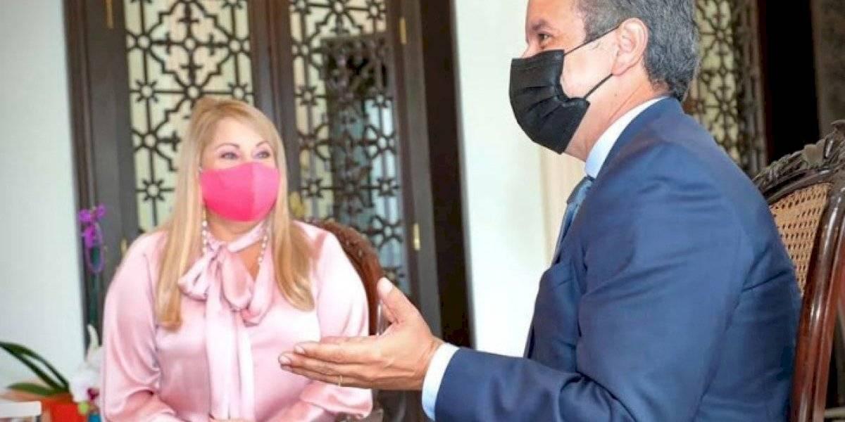 Gobernadora se reúne con el alcalde electo de San Juan