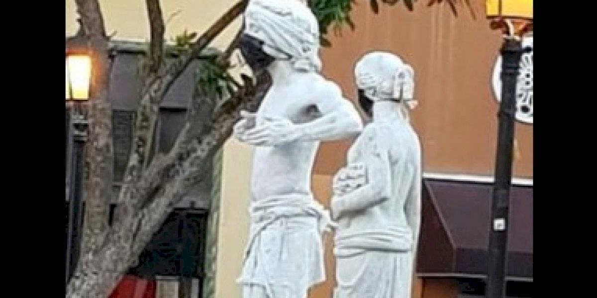 """""""Estatua viviente de San Juan"""" dejará Puerto Rico tras victoria de Miguel Romero"""