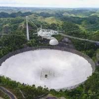 Más daños por rotura de cables en el observatorio de Arecibo