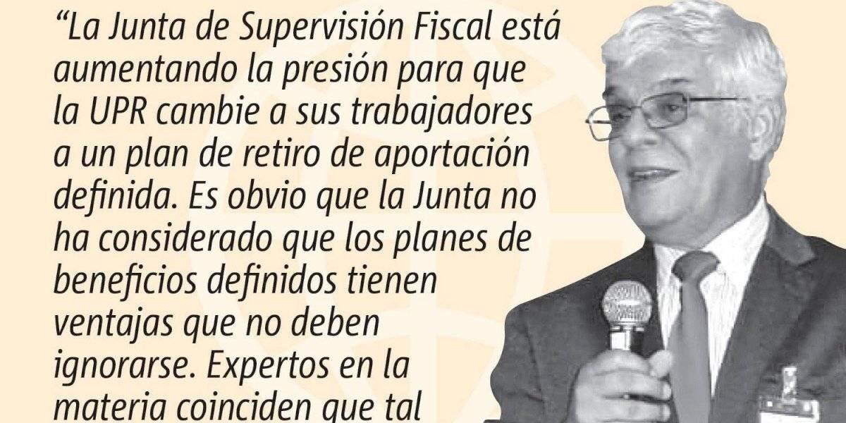 Opinión de José A. González Taboada: Una reforma de pensiones equivocada para la UPR
