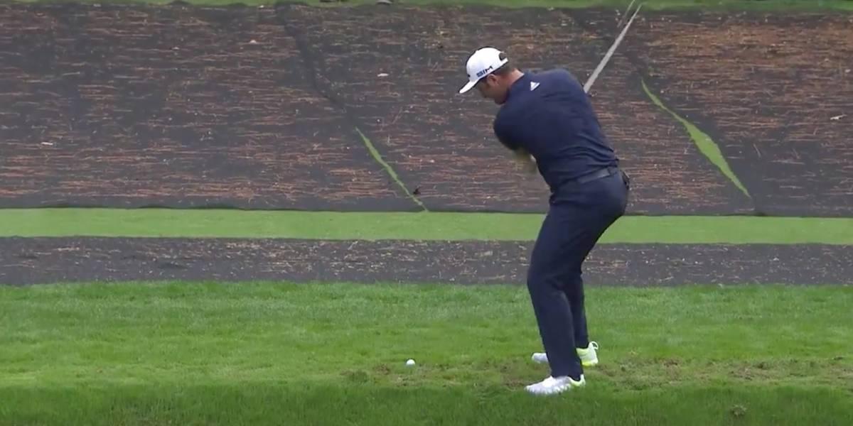 Caminó sobre el agua: el sorprendente tiro en el Masters de Augusta que asombra al golf