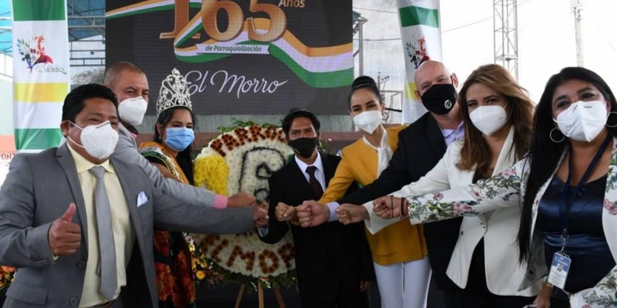 El Morro celebró sus 165 años de parroquialización