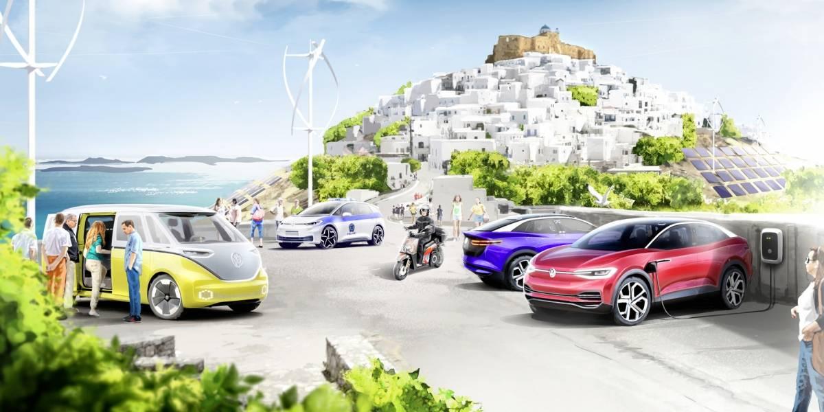 Astypalea en Grecia se convertirá en una isla modelo de la movilidad cero emisiones con Volkswagen