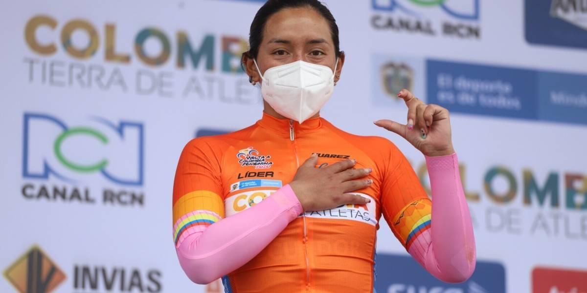 Myriam Núñez es la campeona de la Vuelta a Colombia 2020 Femenina