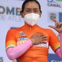 Myriam Núñez mantiene el liderato y está a una etapa de conseguir el título en la Vuelta a Colombia 2020