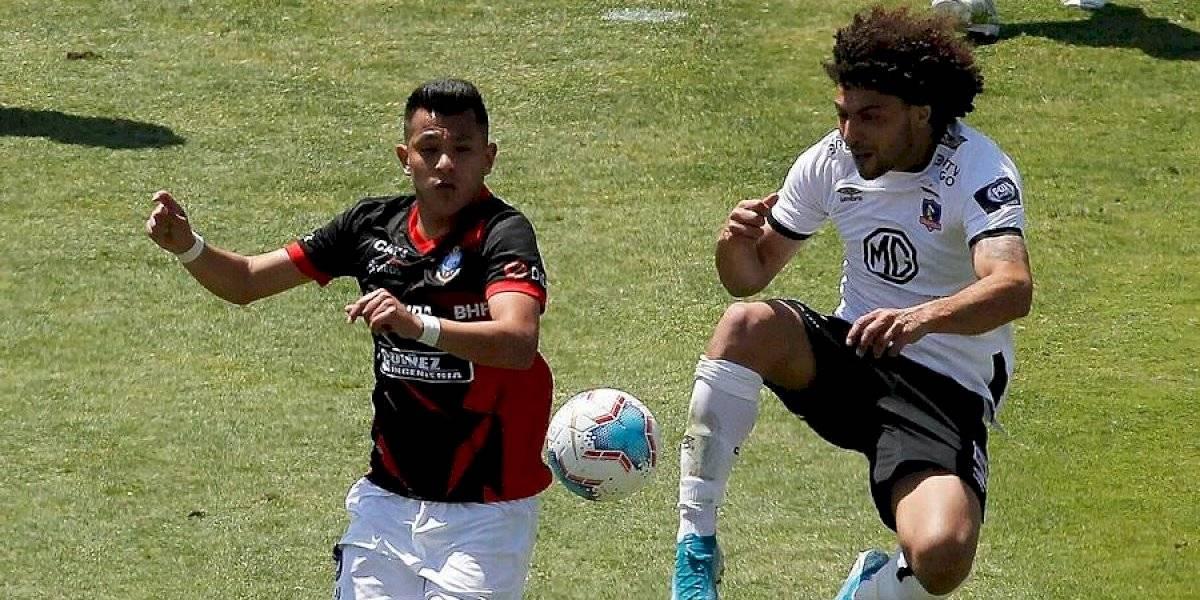 """Maxi Falcón entregó sangre y sudor en su debut por Colo Colo: """"Cada partido cuesta un huevo ganar"""""""