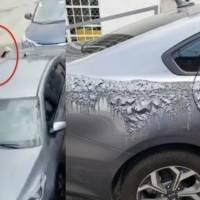 Denuncian a doctora que arrojó acido sobre vehículo estacionado en Tlalpan