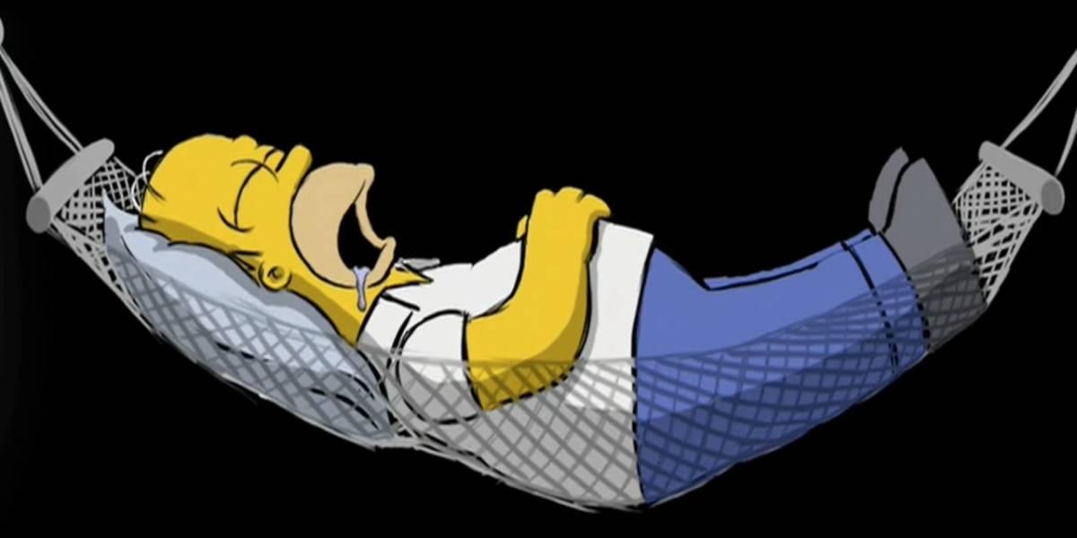 Los Simpson: una extraña animación está escondida en el DVD de la película
