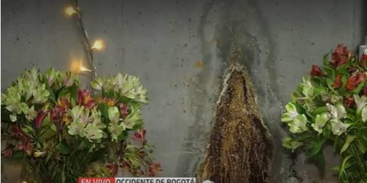Aseguran que la Virgen se apareció en parqueadero de famosa panadería en Bogotá