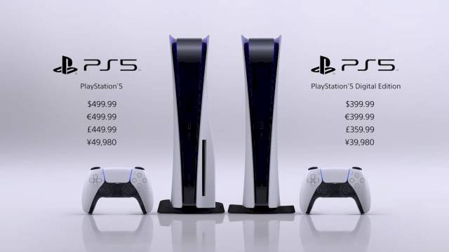 PlayStation 5 tamaño
