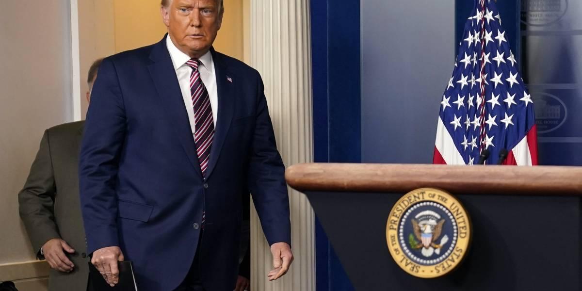 Donald Trump no ha dado acceso a Biden a informe clave de seguridad