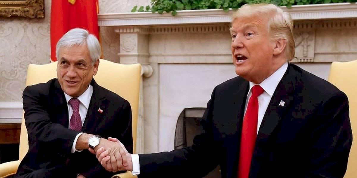 """El mensaje de Piñera a Donald Trump: """"En la democracia hay que saber ganar con gracia y perder con hidalguía"""""""