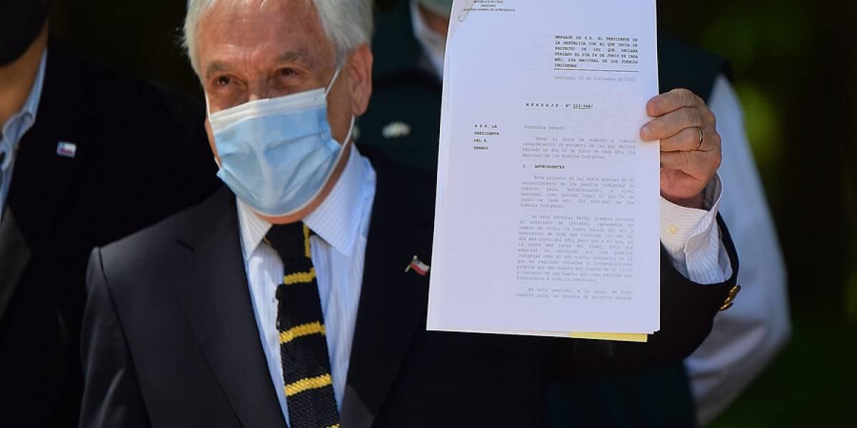 Presidente Piñera no deja claro si recurrirá al TC para evitar segundo retiro del 10%