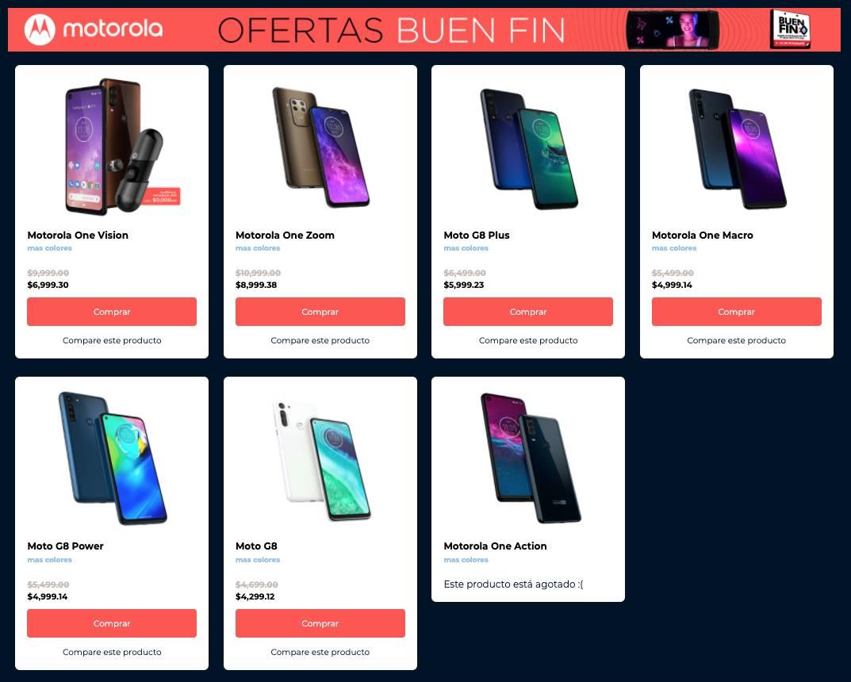 Motorola Buen Fin 2020