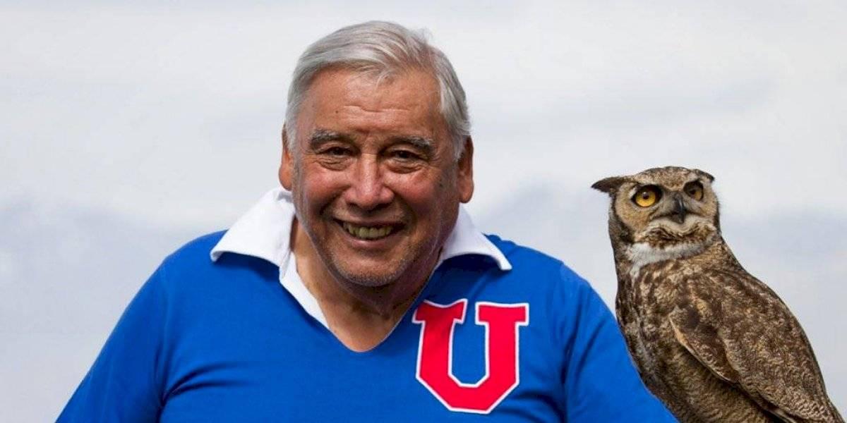 """Fallece a los 83 años Carlos """"Tanque"""" Campos: histórico jugador de la Universidad de Chile"""