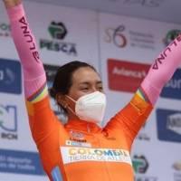 Las primeras palabras de Myriam Núñez tras ser la Campeona de la Vuelta a Colombia Femenina