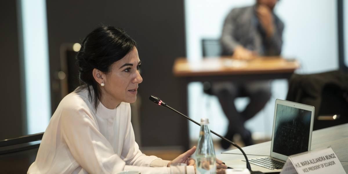 """María Alejandra Muñoz sobre viaje de su familia: """"El Estado no pagó ningún valor, eso es ilegal"""""""